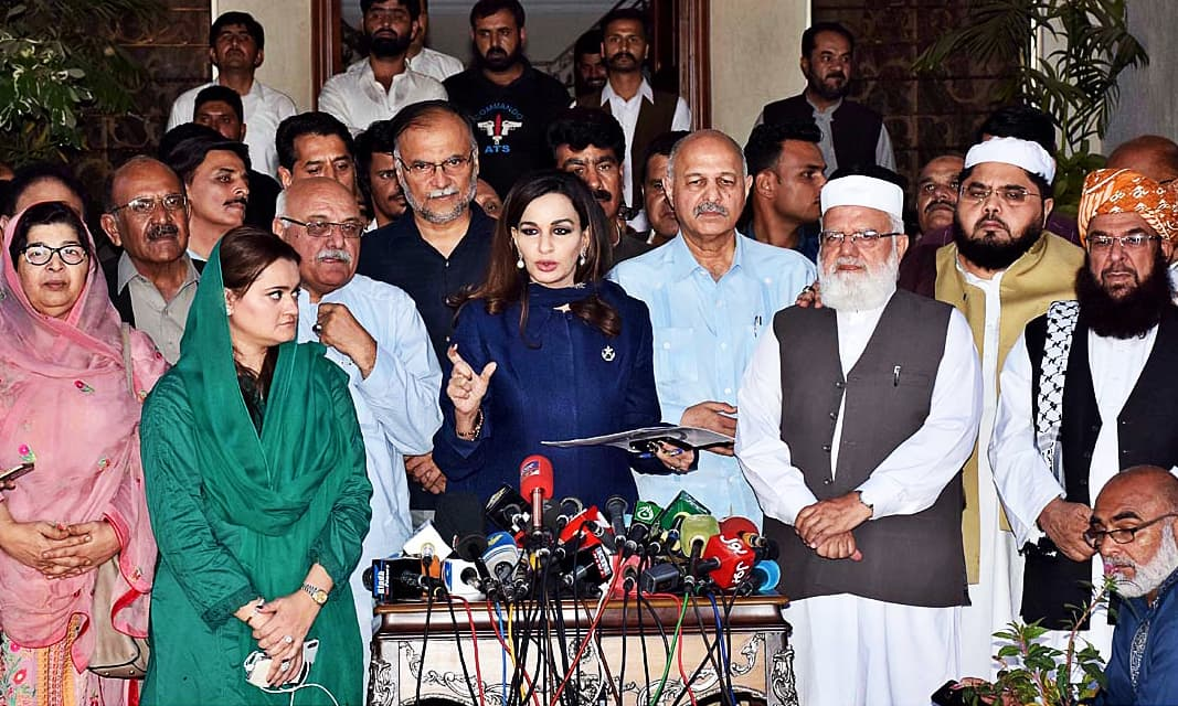 'Opposition' parties resolve to bring their own prime minister, NA speaker