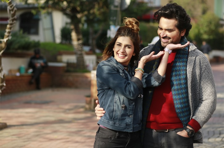 Kubra Khan and Humayun Saeed