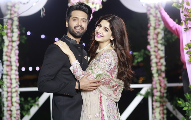 Fahad Mustafa and Mawra Hocane