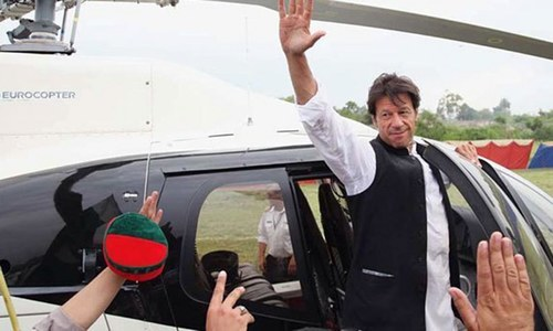 NAB summons Imran in copter case again