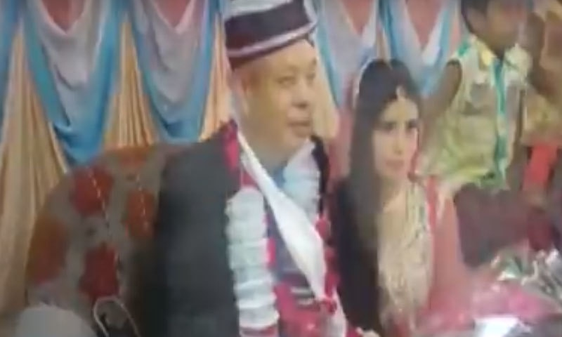 شیا لان چانگ پاکستان میں کام کرتے ہیں—اسکرین شاٹ