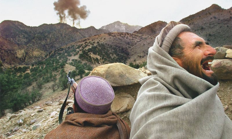 Afghan Northern Alliance fighters in 2001. Almost two decades later, the war continues   David Guttenfelder/AP