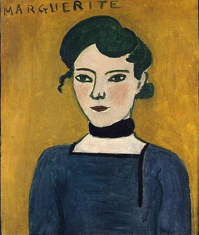 Portrait Of Marguerite (1906-07), Henri Matisse