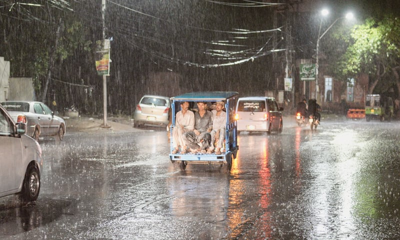 Going home on a rainy night in Lahore | Murtaza Ali/White Star