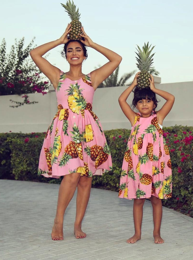 ہدیٰ ایک بیٹٰی کی ماں بھی ہیں—فوٹو: ہدیٰ بیوٹی انسٹاگرام