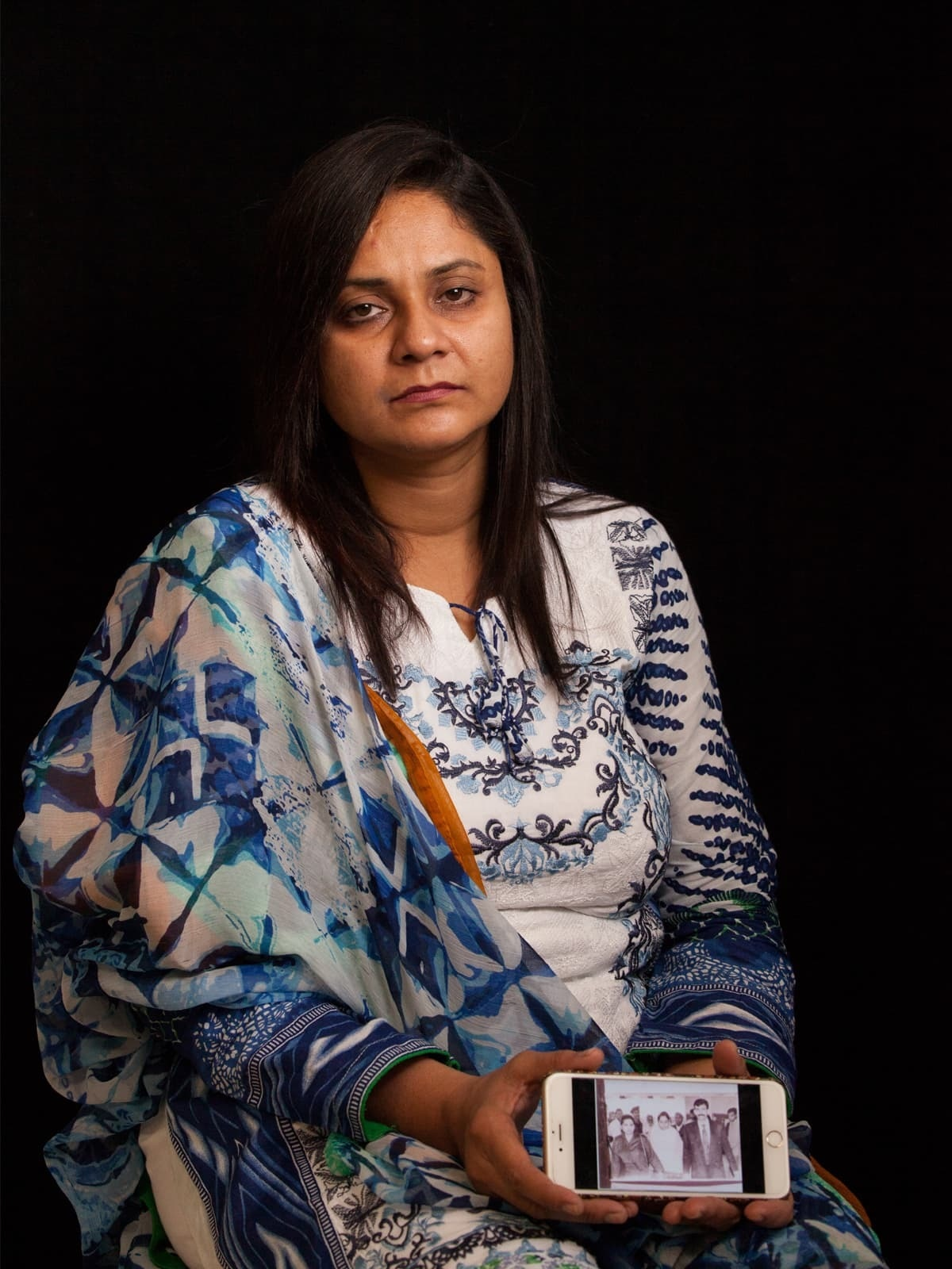 Asma Nawab living in northwestern Karachi | Mohammad Ali, White Star