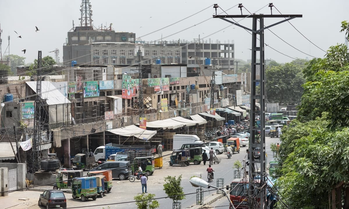 A view of Lahore's Tollinton Market that stands opposite the site of a public hanging just outside Shadman jail | Murtaza Ali, White Star