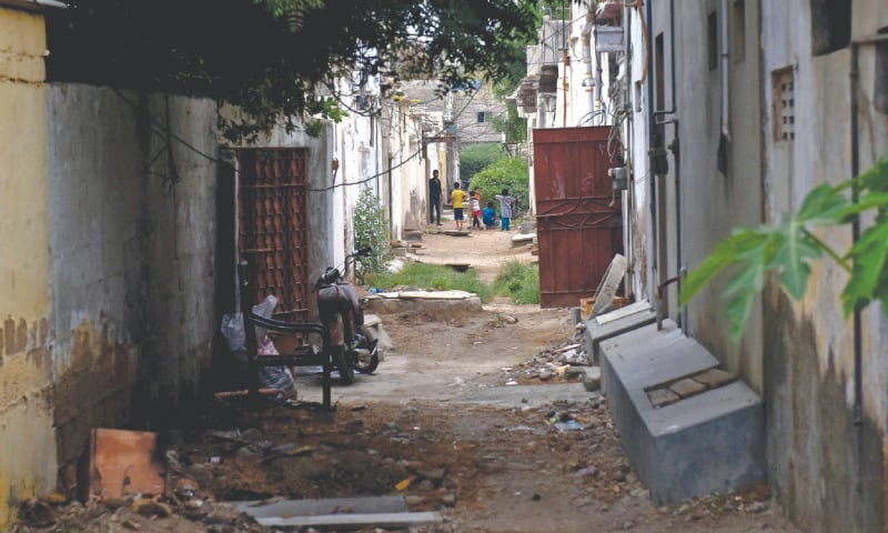 RESIDENTS of the federal colonies say that they developed the infrastructure from basic amenities such as gas and electricity to installing gutter lines in the area on a self-help basis.—Fahim Siddiqi / White Star
