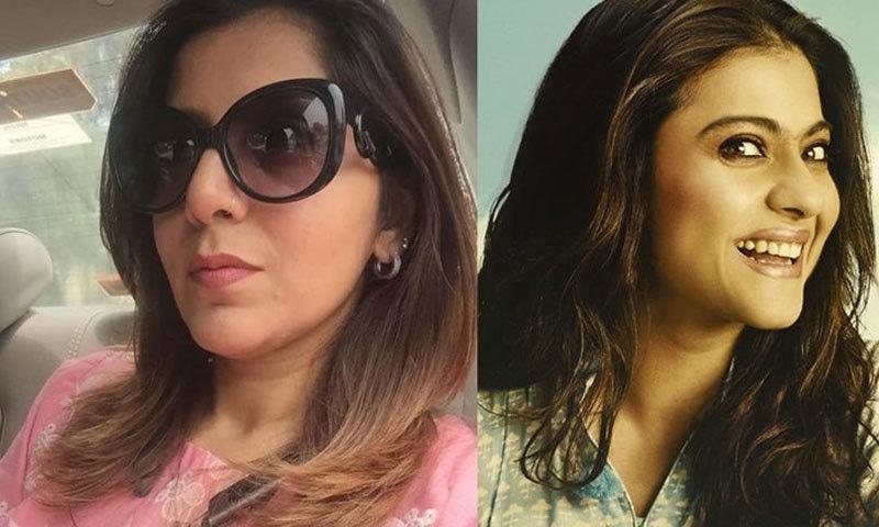 اسماء نبیل نے کاجول کو اپنی پسندیدہ اداکارہ بھی قرار دیا—اسکرین شاٹ
