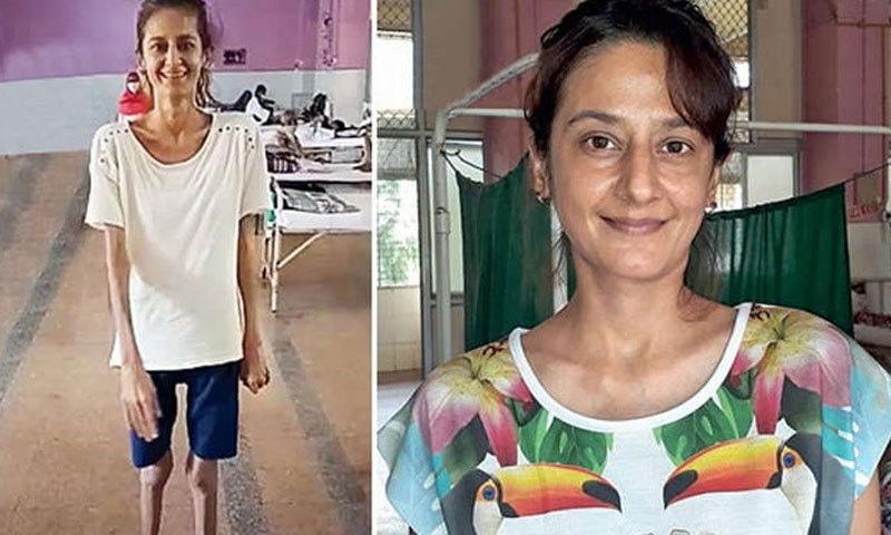 اداکارہ نہ صرف صحت مند ہوگئیں بلکہ ان کا وزن بھی بڑھ چکا ہے—فوٹو: ممبئی مرر