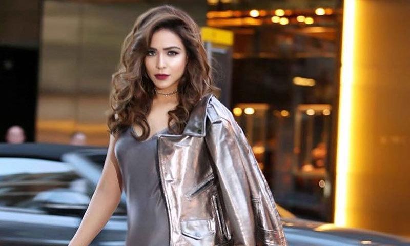 حمیمہ ملک کے ساتھ واقعہ لاہور کے ہوٹل میں پیش آیا—فوٹو: اداکارہ انسٹاگرام
