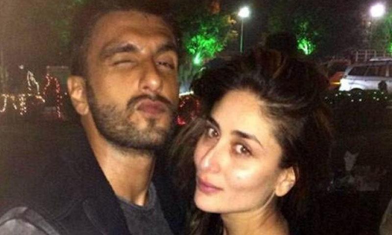 کرینہ کپور پہلے 3 مرتبہ رنویر کے ساتھ فلم کرنے سے انکار کر چکی ہیں—فائل فوٹو: دکن کیرونیکل