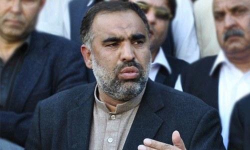 PTI's Asad Qaiser. ─ INP/File