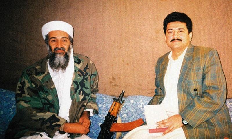 حامد میر نے 2001 میں اسامہ بن لادن کا انٹرویو بھی کیا تھا—فوٹو: پبلک ریڈیو انٹرنیشنل
