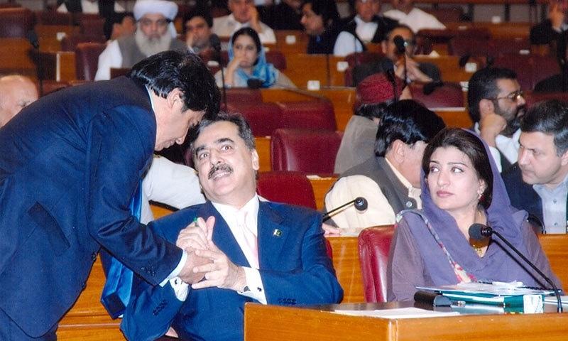 13 ویں اسمبلی جمہوری حکومت کی پہلی قومی اسمبلی تھی جس نے اپنی مدت پوری کی—فوٹو: فرزانہ راجہ ڈاٹ کام