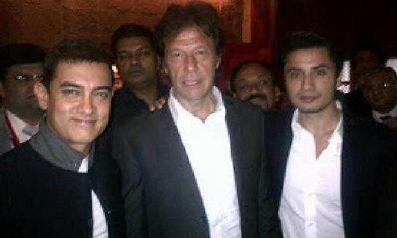 عمران خان نے 2012 میں بھارتی دورہ کیا تھا—فوٹو: ٹائمز ناؤ