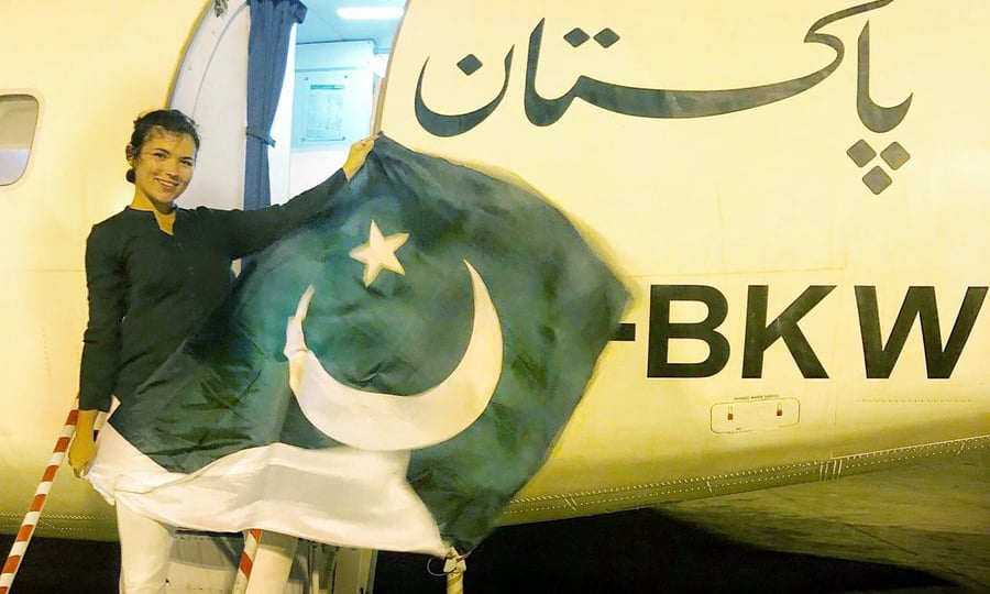 Polish tourist's 'Kiki challenge' on PIA aircraft lands national flag carrier in trouble with NAB
