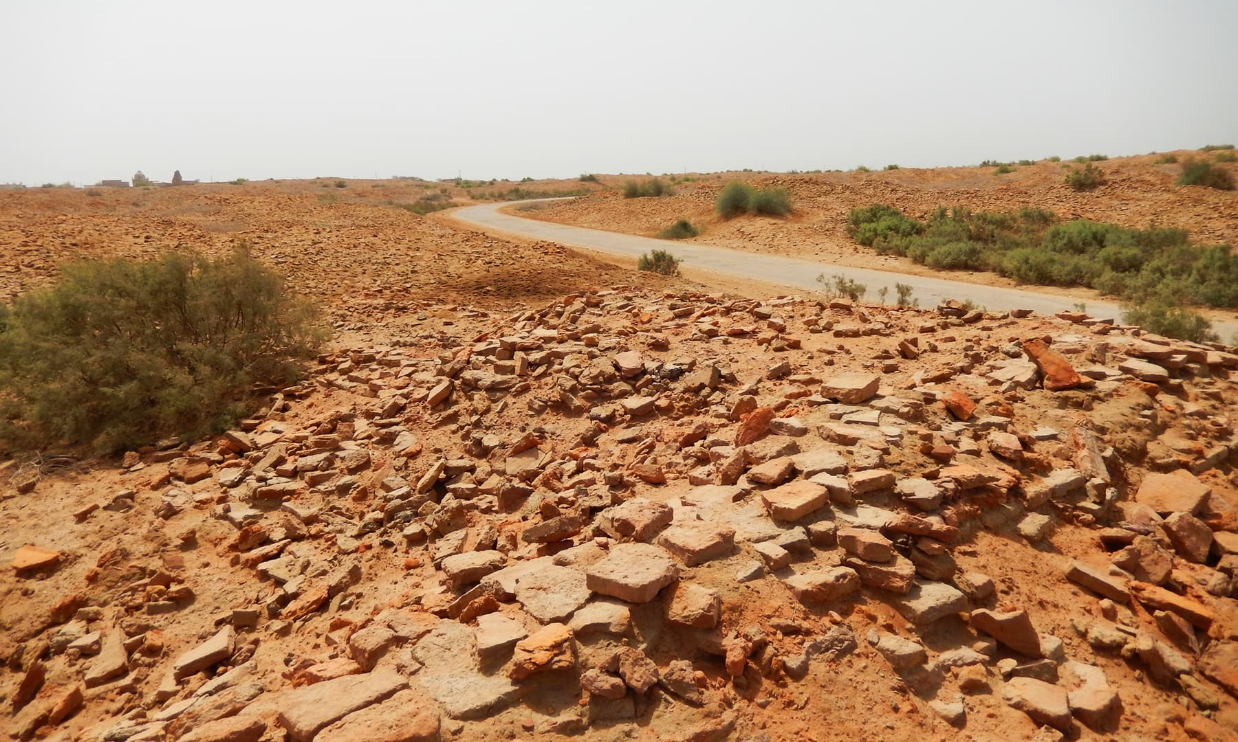 بہمن آباد کے قدیم آثار—تصویر ابوبکر شیخ
