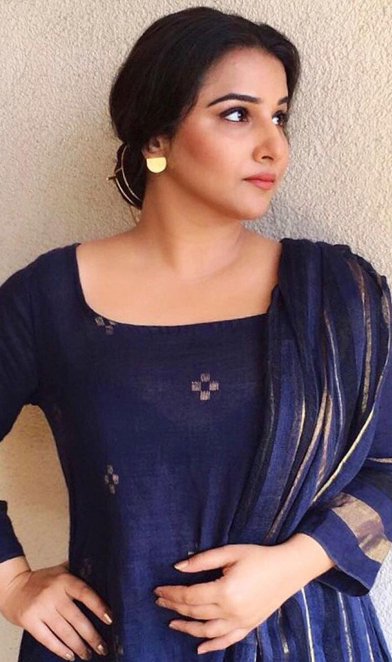 جے للیتا کی زندگی پر بنائی جانے والی فلم ہندی میں بھی ریلیز کی جائے گی—فوٹو: ودیا بالن انسٹاگرام