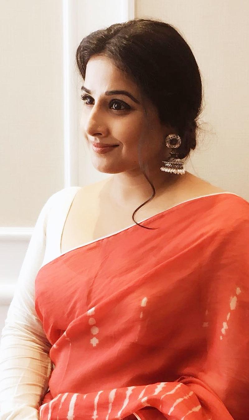 ویب سیریز میں وہ اندرا گاندھی کا کردار نبھائیں گی—فوٹو: ودیا بالن انسٹاگرام