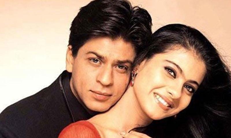 شاہ رخ اور کاجول نے 10 کے قریب فلموں میں ایک ساتھ کام کیا ہے—اسکرین شاٹ