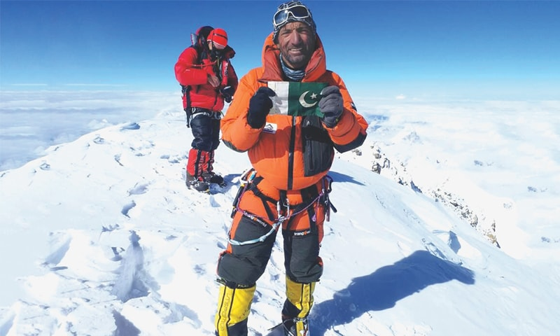 Proud to be Pakistani: Ali Sadpara on top of K2