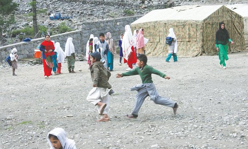 School is not just studies; fun is part of it