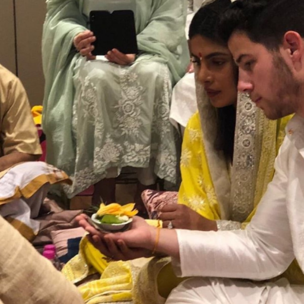 First Pictures From Priyanka Chopra And Nick Jonas' Engagement Celebrations Are Here
