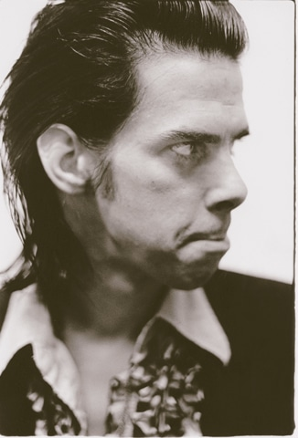 "Nick Cave (1987): ""He always tries not to pose"""