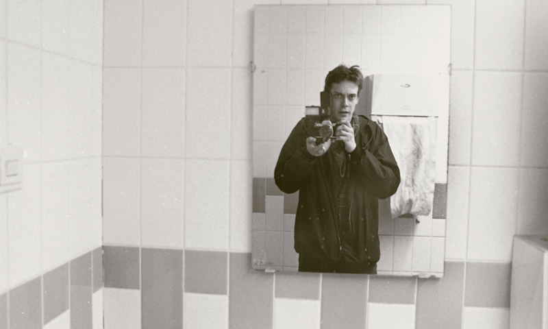 Self portrait, sometime in the 1980s