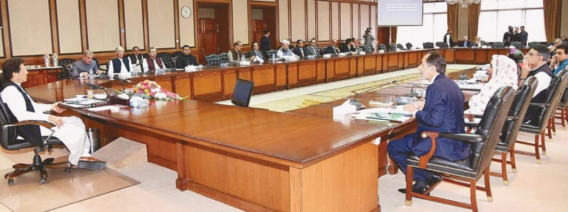 Cabinet decides to put Nawaz, Maryam on ECL