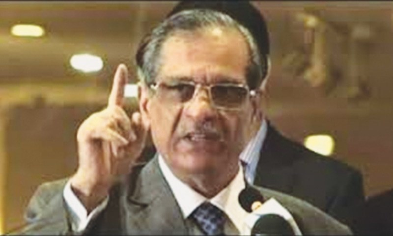 CJP chides NAB for leaking probe information to media