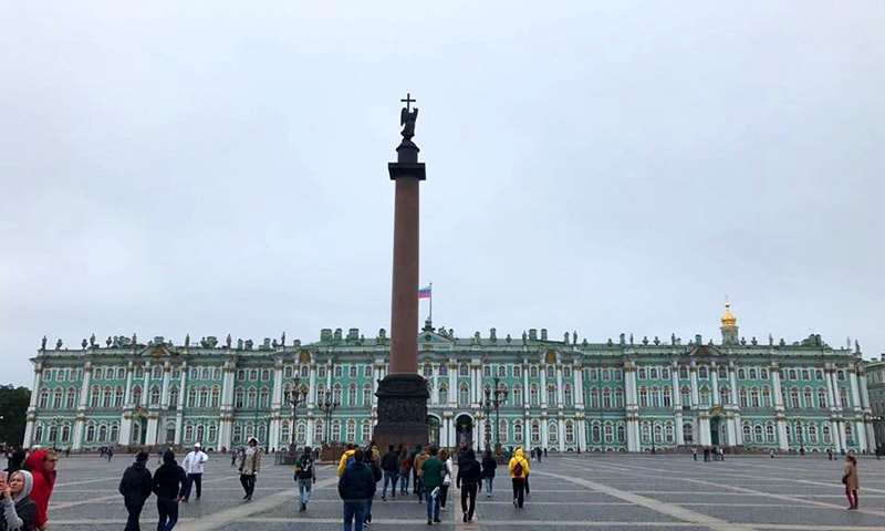The Winter Palace.