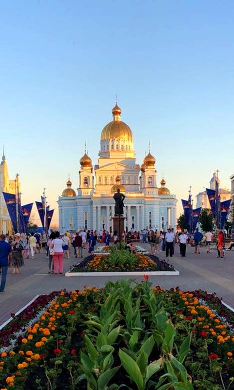 Cathedral of St. Theodore Ushakov.