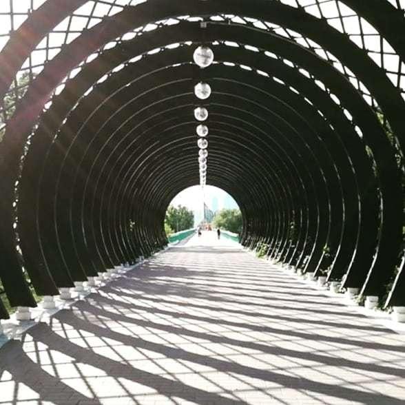 Gorky Park is massive.