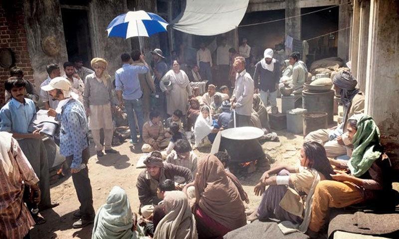 احمد آباد کو لاہور کے طور پر دکھایا گیا ہے—اسکرین شاٹ