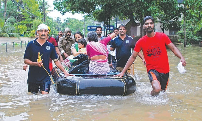 Kerala floods: More than a million people in relief camps