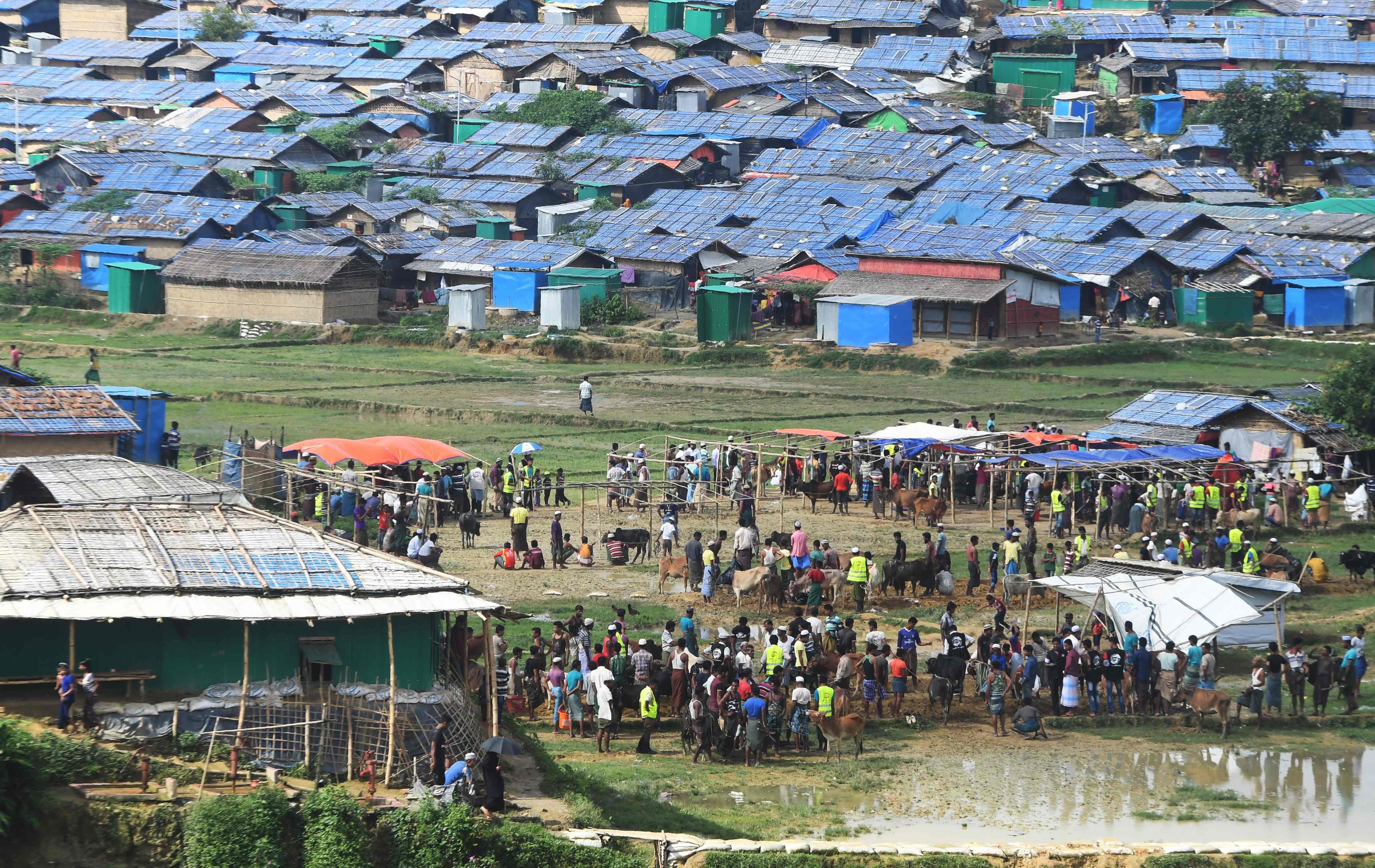 Rohingya celebrate Eidul Azhad — AFP