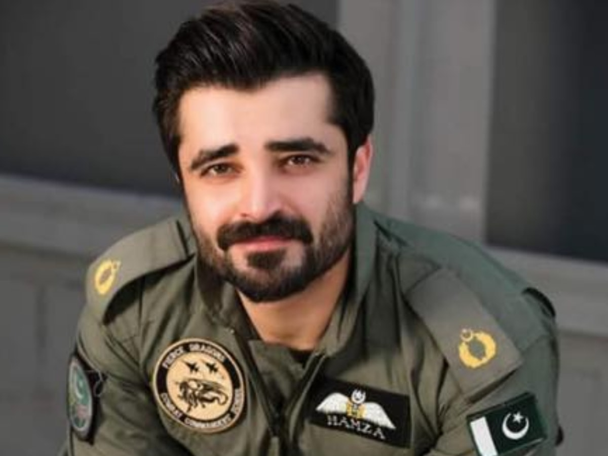 Hamza Ali Abbasi as fighter pilot Hamza