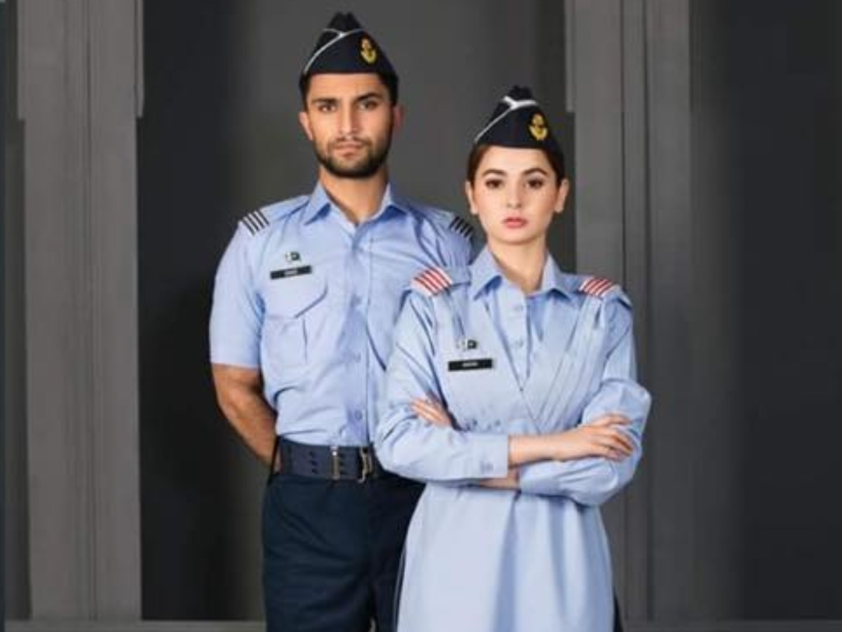 The change in chemistry between Hania Amir and Ahad Raza's characters is surprising