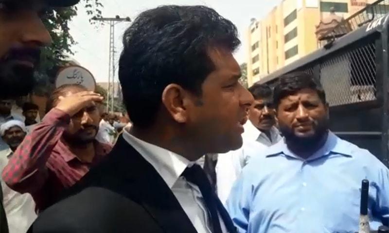 Lawyer Mohammad Bilal. — DawnNewsTV