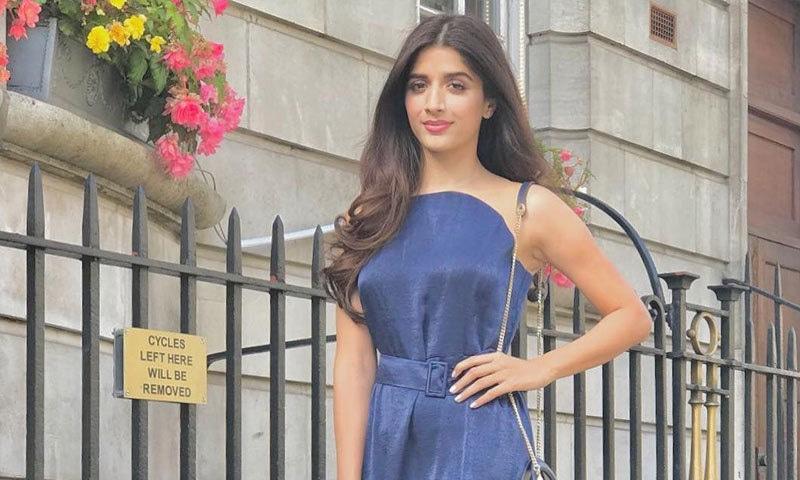 بھارتی فلم انڈسٹری تکنیکی حوالے سے بہتر ہے، اداکارہ—فوٹو: ماورا حسین انسٹاگرام