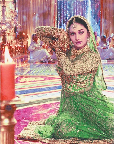 Madhuri Dixit as the nautch girl in Devdas was truly enchanting