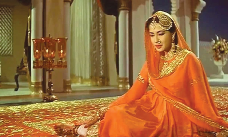 Pakeezah was Meena Kumari's swan song as she died soon after the release of the movie