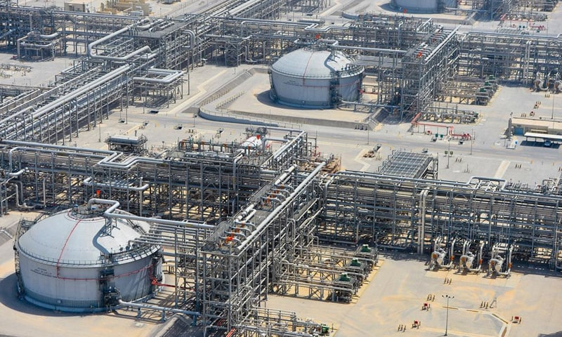This file photo shows a view of Saudi Aramco's Manifa oilfield. The much-awaited IPO of the Saudi Aramco is on the shelf for now as the company failed to attract its desired valuation.—Reuters