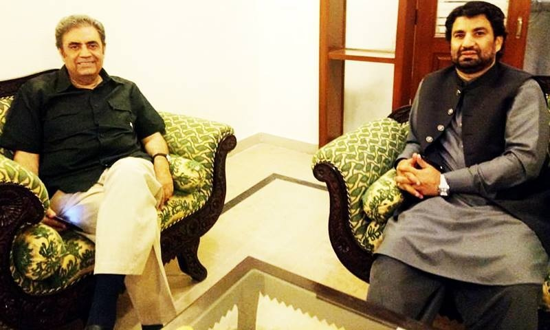"""Deputy Speaker of  the National Assembly Muhammad Qasim Suri met Dr Jogezai at Balochistan House on Saturday and congratulated him  on his """"nomination"""". — DawnNewsTV"""