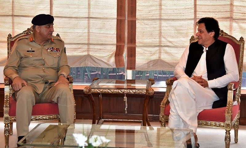 PM Khan and Army Chief Bajwa vow in first meeting to work for long-lasting peace