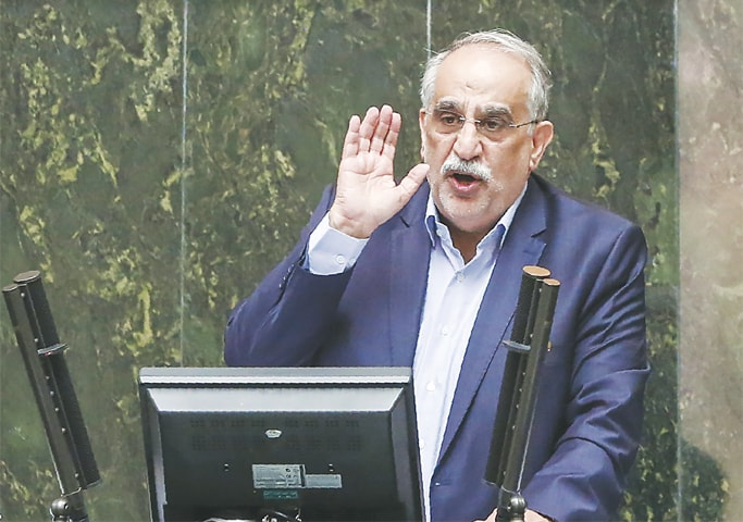 Masoud Karbasian is the second minister in President Rouhani's cabinet to be impeached this month, following the removal of Labour Minister Ali Rabiei on Aug 8.—AFP