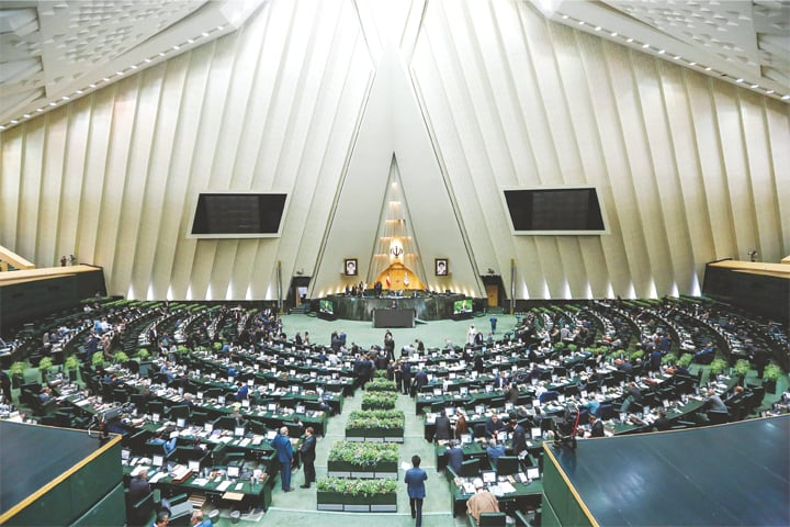 For the first time, lawmakers have summoned President Hassan Rouhani to parliament to face questions over the collapsing value of the Iranian currency, stubbornly high unemployment and corruption.—AFP