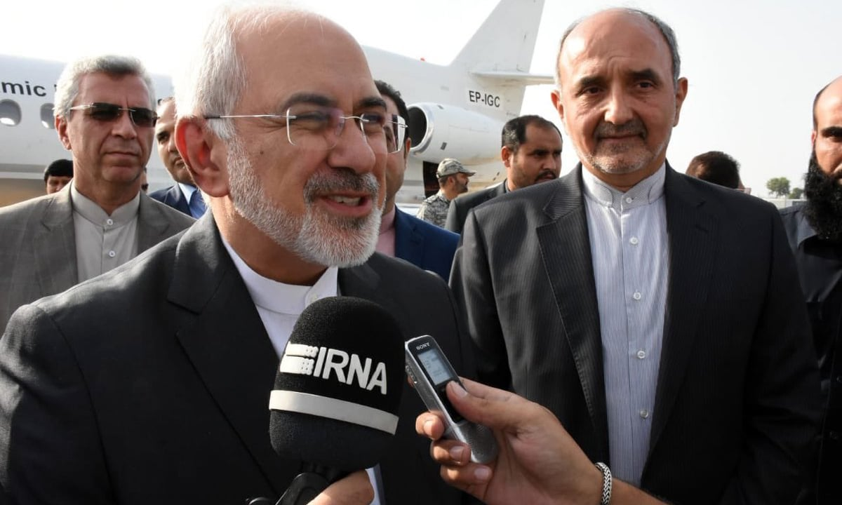 Iran's FM Javad Zarif arrives in Islamabad for talks with Pakistani leadership